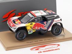 Peugeot 3008 DKR #307 3rd Rallye Dakar 2017 Despres, Castera 1:43 Spark