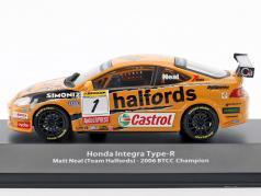 Honda Integra Type-R #1 BTCC champion 2006 Matt Neal 1:43 Atlas