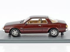 Mitsubishi Sapporo MKI Coupe year 1982 dark brown metallic 1:43 Neo