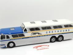 Greyhound Scenicruiser silver / blue 2. choice 1:43 Altaya