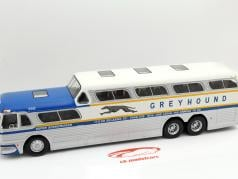 Greyhound Scenicruiser argent / bleu 2. élection 1:43 Altaya