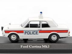 Ford Cortina Mk II Hampshire policy 1:43 Atlas