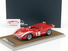Abarth 2000 SP #15 500km Nürburgring 1970 K. Ahrens jr. 1:18 Tecnomodel