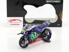 Valentino Rossi Yamaha YZR-M1 #46 gratuit pratique Sepang GP MotoGP 2016 1:12 Minichamps