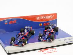 Kvyat #26 & Sainz #55 2-Car Set Toro Rosso STR12 formula 1 2017 1:43 Minichamps