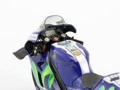 Valentino Rossi Yamaha YZR-M1 #46 Free Practice Sepang GP MotoGP 2016 1:12 Minichamps