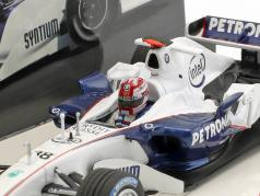 R. Kubica BMW Sauber C24B #38 fórmula 1 Test Barcelona 2006 1:43 Minichamps