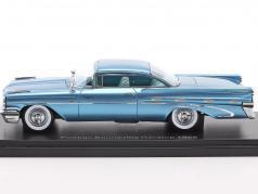 Pontiac Bonneville Hardtop year 1959 light blue metallic 1:43 Neo