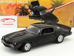 Chevrolet Camaro Z28 year 1978 from the Movie Beverly Hills Cop II (1987) black 1:18 Greenlight