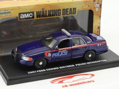 Ford Crown Victoria Police Interceptor Atlanta Police year 2001 TV series The Walking Dead 1:43 Greenlight