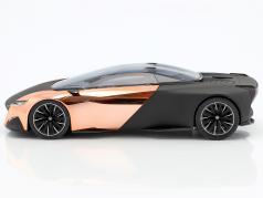 Peugeot Concept-Car Onyx Salon de Paris 2012 nero opaco / rame 1:18 Norev