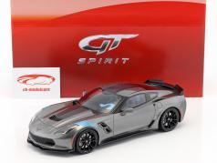 Chevrolet Corvette Grand Sport Cyear 2017 dark gray 1:18 GT-SPIRIT