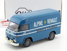 Saviem SB2 Van Assitance Courses Alpine 24h LeMans blue 1:18 OttOmobile