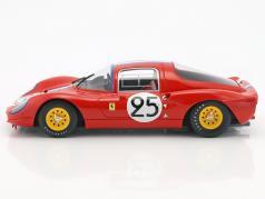 Ferrari Dino 206S #25 24h LeMans 1966 Vaccarella, Casoni 1:18 CMR