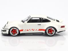 Porsche 911 (964) RWB Duck Tail bianco 1:18 GT-Spirit
