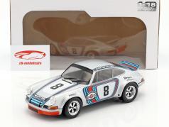 Porsche 911 RSR Martini Racing #8 winnaar Targa Florio 1973 Müller, van Lennep 1:18 Solido