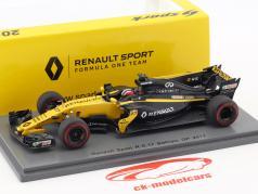 Nico Hülkenberg Renault R.S.17 #27 bahrain GP formula 1 2017 1:43 Spark