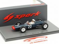 Hap Sharp Lotus 24 #22 Mexico GP formula 1 1963 1:43 Spark