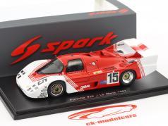 Porsche 936C #15 24h LeMans 1983 Martin, Duez, Martin 1:43 Spark