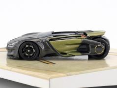 Peugeot EX1 Concept Car anno di costruzione 2010 grigio scuro metallico / oliva verde 1:43 Norev