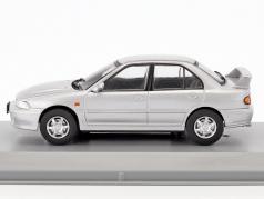 Mitsubishi Lancer Evo 1 anno di costruzione 1992 argento metallico 1:43 GTI Collection