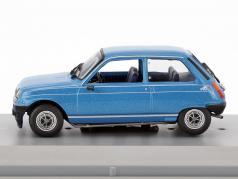 Renault 5 Alpine year 1976 blue metallic 1:43 GTI Collection