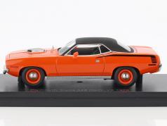 Plymouth Cuda 426 Hemi-V8 anno di costruzione 1970 arancione / nero 1:43 BOS-Models