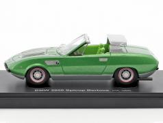BMW 2800 Spicup Bertone year 1969 green metallic 1:43 AutoCult
