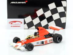James Hunt McLaren M23 #11 2nd Südafrika GP world champion formula 1 1976 1:18 Minichamps