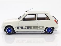 Renault 5 Gordini Turbo year 1976 white 1:18 OttOmobile