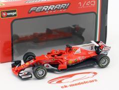 Sebastian Vettel Ferrari SF70H #5 formule 1 2017 1:43 Bburago