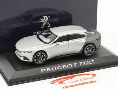 Peugeot Exalt Koncept bil Salon de Paris 2014 sølv / grå 1:43 Norev