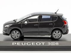 Peugeot 3008 Opførselsår 2013 sort 1:43 Norev