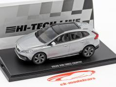 Volvo V40 Cross Country year 2015 electric silver 1:43 MotorArt