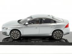 Volvo S60 Construction year 2015 electric silver 1:43 Norev