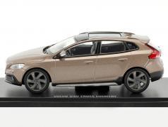 Volvo V40 Cross Country Opførselsår 2015 kobber metallisk 1:43 MotorArt