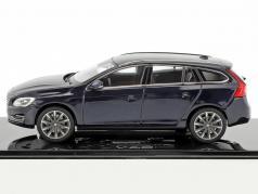 Volvo V60 Opførselsår 2015 magi blå 1:43 Norev