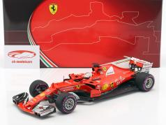 Sebastian Vettel Ferrari SF70H #5 vincitore Australia GP formula 1 2017 1:18 BBR