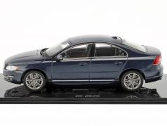 Volvo S80 year 2015 caspian blue 1:43 Norev