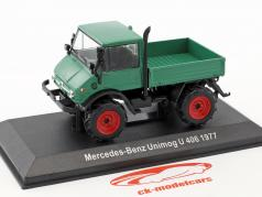 Mercedes-Benz Unimog U 406 year 1977 green 1:43 Hachette