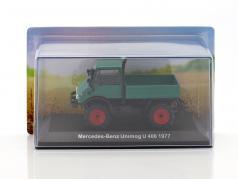 Mercedes-Benz Unimog U 406 Opførselsår 1977 grøn 1:43 Hachette