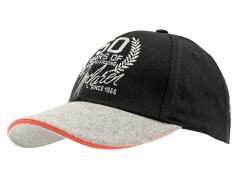 Team Member Cap McLaren 50 Years of Grand Prix Racing 2016 schwarz / grau / orange