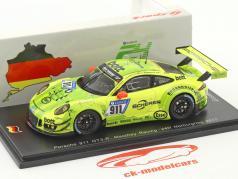 Porsche 911 GT3 R #911 24h Nürburgring 2017 Manthey Racing 1:43 Spark
