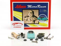 Micro Racer Porsche 356 coupe assembly case Schuco