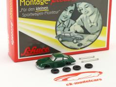 Porsche 911 green assembly case 1:90 Schuco Piccolo