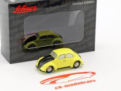 Volkswagen VW Beetle yellow / black 1:90 Schuco Piccolo