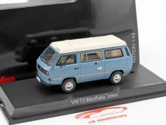 Volkswagen VW T3a Joker Campingbus blau / weiß 1:43 Schuco