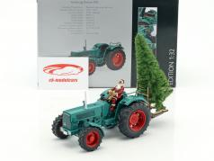Hanomag Robust 900 tractor With Santa Claus and tree green 1:32 Schuco