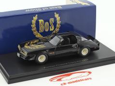 Pontiac Firebird Trans Am Opførselsår 1977 sort / guld 1:43 BoS-Models