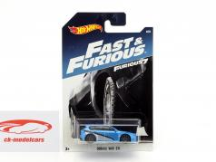 Subaru WRX STI Movie Fast & Furious 7 (2015) blue metallic / silver / black 1:64 HotWheels